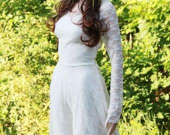 Ivory wedding dress-wedding gown dress-hoodie wedding dress