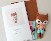 Flicker Pocket Fox Pattern Kit