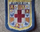 Vintage 1950s Spanish Almeria Sew On Travel Patch