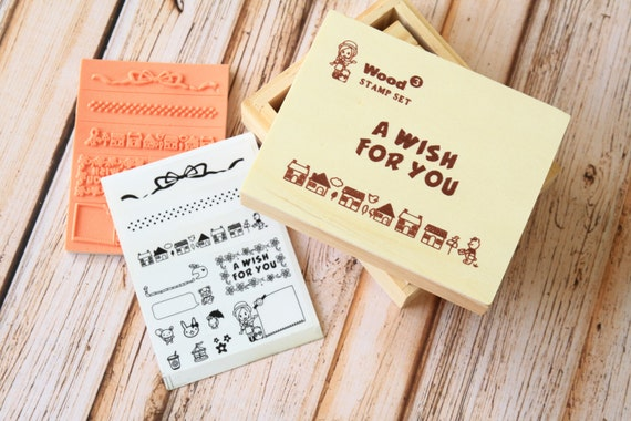 A Wish for You diary Message Stamps set