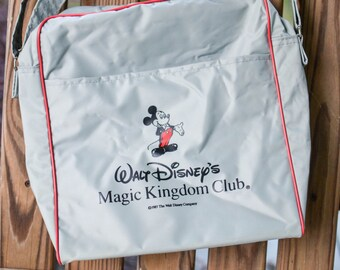 Vintage Mickey Mouse Bag, Walt Disney Magic Kingdom Club, Vintage Disney