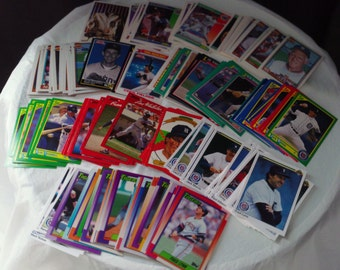 Detroit Tigers FREE SHIPPING! set of 199 vintage baseball cards for decoupage, framing, crafts or collecting AL mlb 1990-92 Ty Cobb Sparky