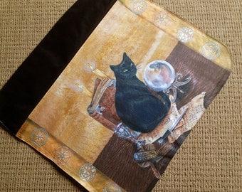 Art of Magic, Extra Hand Pressed Messenger Bag Flap For Our Art Messenger Bag