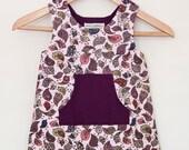 Birdie Print Pinafore Dress Age 2 - 3 years