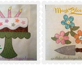 My Favorite Things Quilt Doodle Designs May's Block 2015