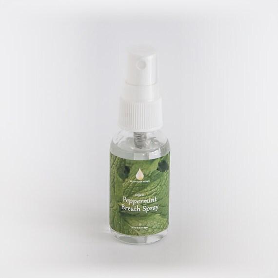 Organic Peppermint Breath Spray