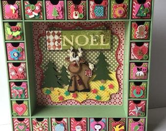 Advent Calendar - Christmas Reindeer