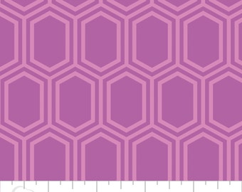 Camelot Fabric's Elixir Honeycomb (Orchid) 1 yard