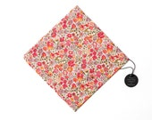 Pomp & Ceremony Pocket Square handkerchief Liberty of London Kaylie Sunshine Pinks