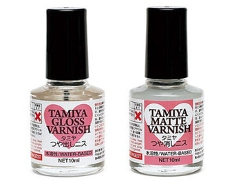 Tamiya Decoration Series Gloss / Matte Varnish for Clay 10ml From Japan TA-76616 / TA-76617