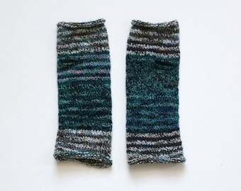 Nature Girl Hand Knit Wrist Warmers