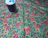 fabric destash 1 1/4 yards Farhana Print Concepts quilting fabric
