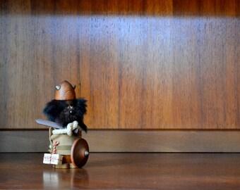 vintage sveistrup style danish modern scandinavian viking figurine
