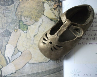 Darling Vintage Baby Shoe