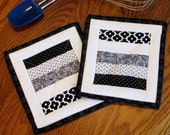 POT HOLDERS, Quilted, Insulated, Hot Pads, Oven Mitt, Trivets, Coasters, Baking, Cooking