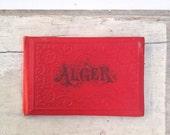 Alger Travel Booklet in Red