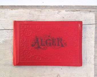 Alger Travel Booklet in Red