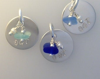 Sea Glass Tags
