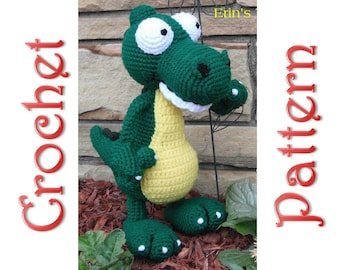 Alex Gator a Crochet Pattern by Erin Scull