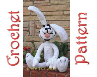 Tricks the Rabbit A Crochet Pattern by Erin Scull
