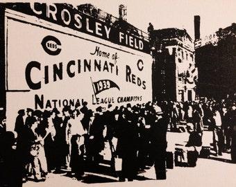 Crosley Field - Cincinnati, Ohio