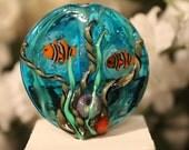 Aquarium Lampwork Focal