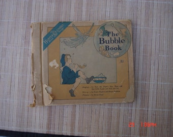 The Bubble Book - The Harper Columbia Book that Sings - First of 12 Books - 1917