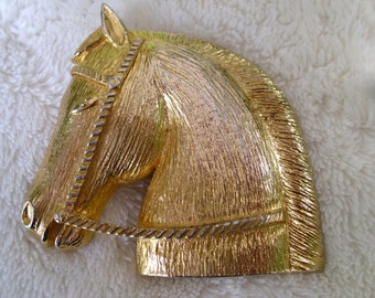 Horse Head Metal Belt Buckle