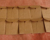 "10 Mini Brown Coin Envelopes - Recycled Brown Envelopes - Recycled Mini Coin Envelopes - Tiny Coin Envelopes - 1 3/8"" x 2"""