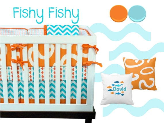 Fishy Crib Bedding