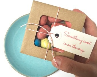 Baby shower favors // Something sweet is on the way // Ready to ship favors.