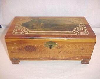 Western Red Cedar Dresser Box