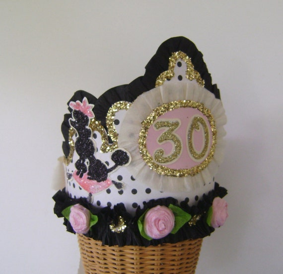 81 30th Birthday Hats Adults