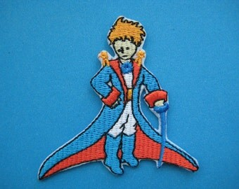 Iron-on Embroidered Patch Le Petit Prince 2.6 inch