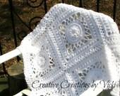 Crochet Pattern, Afghan Crochet Pattern, Vintage Crochet, Vintage Afghan, Vintage Lace Overlay