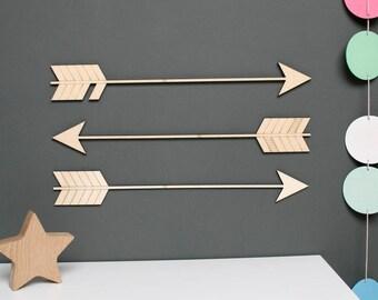 Wooden Arrow Wall Decoration