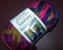 Boutique Sashay Yarn Skein Ball Red Heart Ruffle Frill Choice of 5 Colors