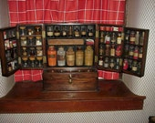 Apothecary Perfume Oil Cabinet