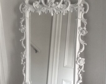 Syroco Carved Mirror