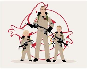 Custom Family Portrait Stranger Things theme, couple portrait stranger things, hamilton, harry potter, star wars, marvel