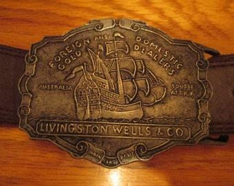Vintage Metal Belt Buckle