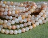 50pcs 8mm Pink Aventurine Natural Gemstone Beads Round 16 Inches 1 Strand