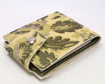 The Silver Forest Floral Billfold Wallet
