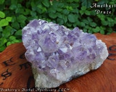 AMETHYST DRUZE CLUSTER Huge.  Stone Of Higher Consciousness