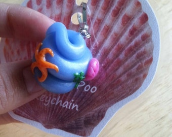 Mermaid Poo Keychain