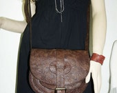 Goldmann S - Leather Messenger // Leather Saddle Bag // Cross body bag