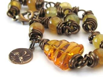 Bee jewelry unique honey bee bracelet bee hive bracelet bumblebee gardener gift for gardener jewelry unusual bracelets bumble bee