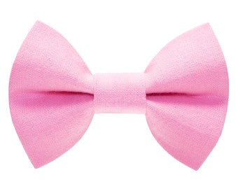 """Cat Bow Tie - """"The Tickled Pink"""" - Pink"""