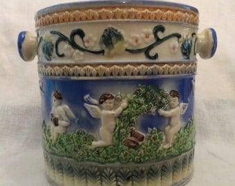 Vintage Angel Biscuit or Cookie Jar