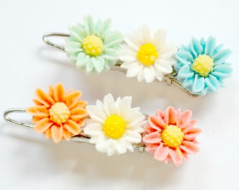 Little Daisy Barrettes